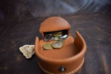 Монетница KAZBEK, по образцу монетницы из CCCP ручной работы