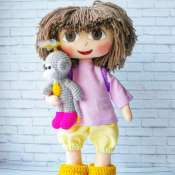 Кукла Даша путешествинница