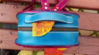 Женский рюкзак из кожи ручной работы. ручной работы