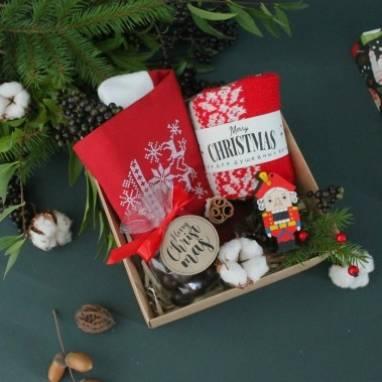 Душевный новогодний подарочный набор ручной работы