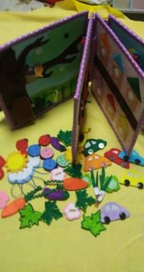 Развивающие книжки для детей  ручной работы