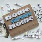 """Ключница """"Home sweet"""""""