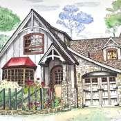 Акварельный портрет Вашего дома или здания