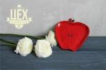Подарок с керамическим яблоком