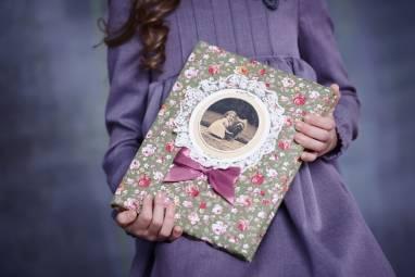 Детский фотоальбом  ручной работы
