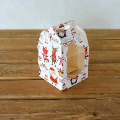 Упаковка для новогодней выпечки  ручной работы