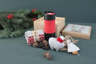 Подарок с термокружкой ручной работы
