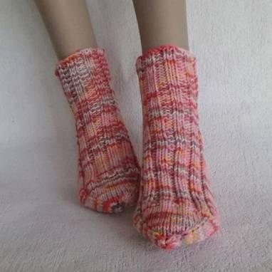 """Носки -домашняя обувь """" Зефирка"""" ручной работы"""