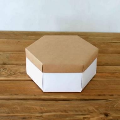 Коробка в виде ромба ручной работы