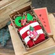 Подарок новогодний с пряниками