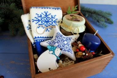 Подарочный набор новогодний ручной работы