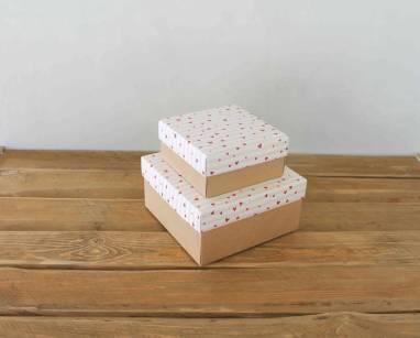 Коробка с сердцем  ручной работы