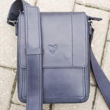 Мужская сумка из натуральной кожи ручной работы
