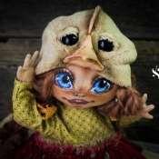 Авторская кукла Цыпа