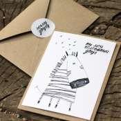 набор открыток из 3шт- для друзей!