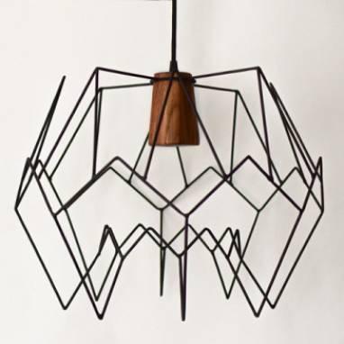 Светильник подвесной в стиле лофт  ручной работы