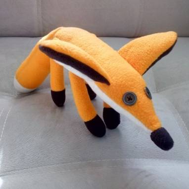 Мягкая игрушка Лиса ручной работы
