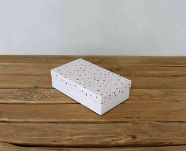 Подарочная коробка на день влюблённых  ручной работы
