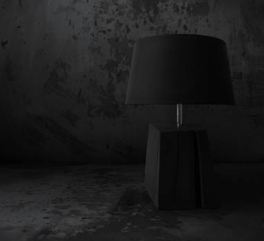 """Table lamp """"Sinister"""" #19  ручной работы"""