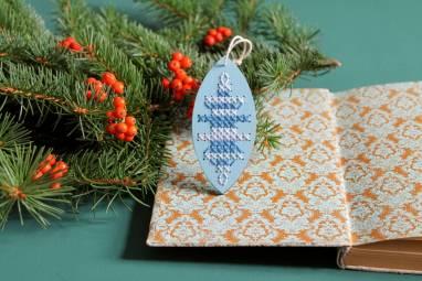 Новогодняя игрушка на елку  ручной работы