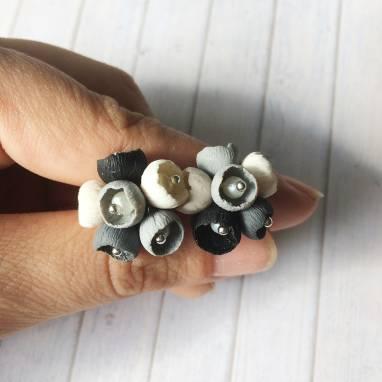 Комплект украшений из полимерной глины ручной работы