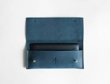 Чехол для телефона (Dark blue) ручной работы