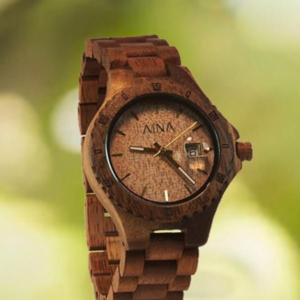 Часы из дерева наручные