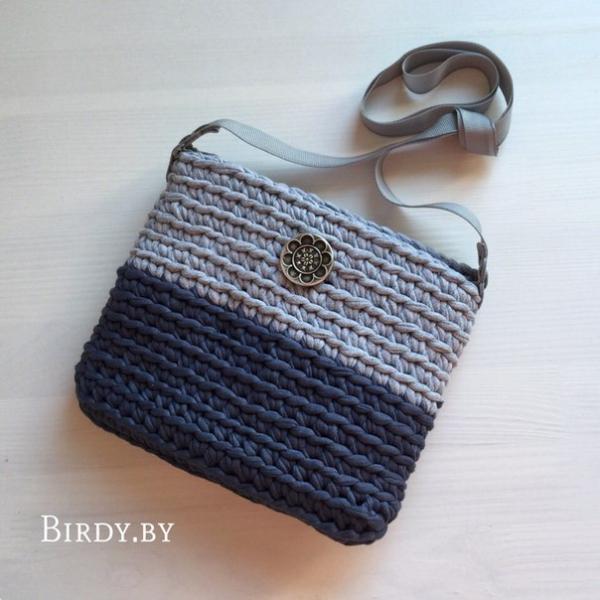сумочки вязанные маленькие