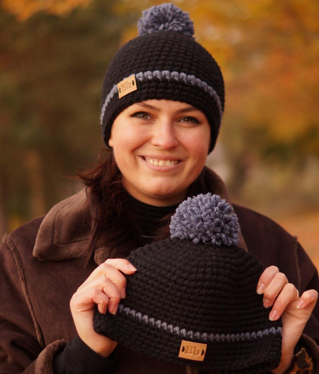 Поиск на Постиле: шапка двухцветным узором 2