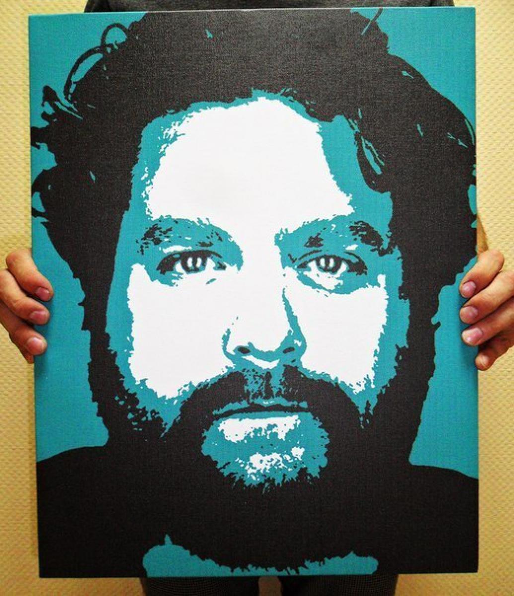 Поп-арт портреты своими руками 29