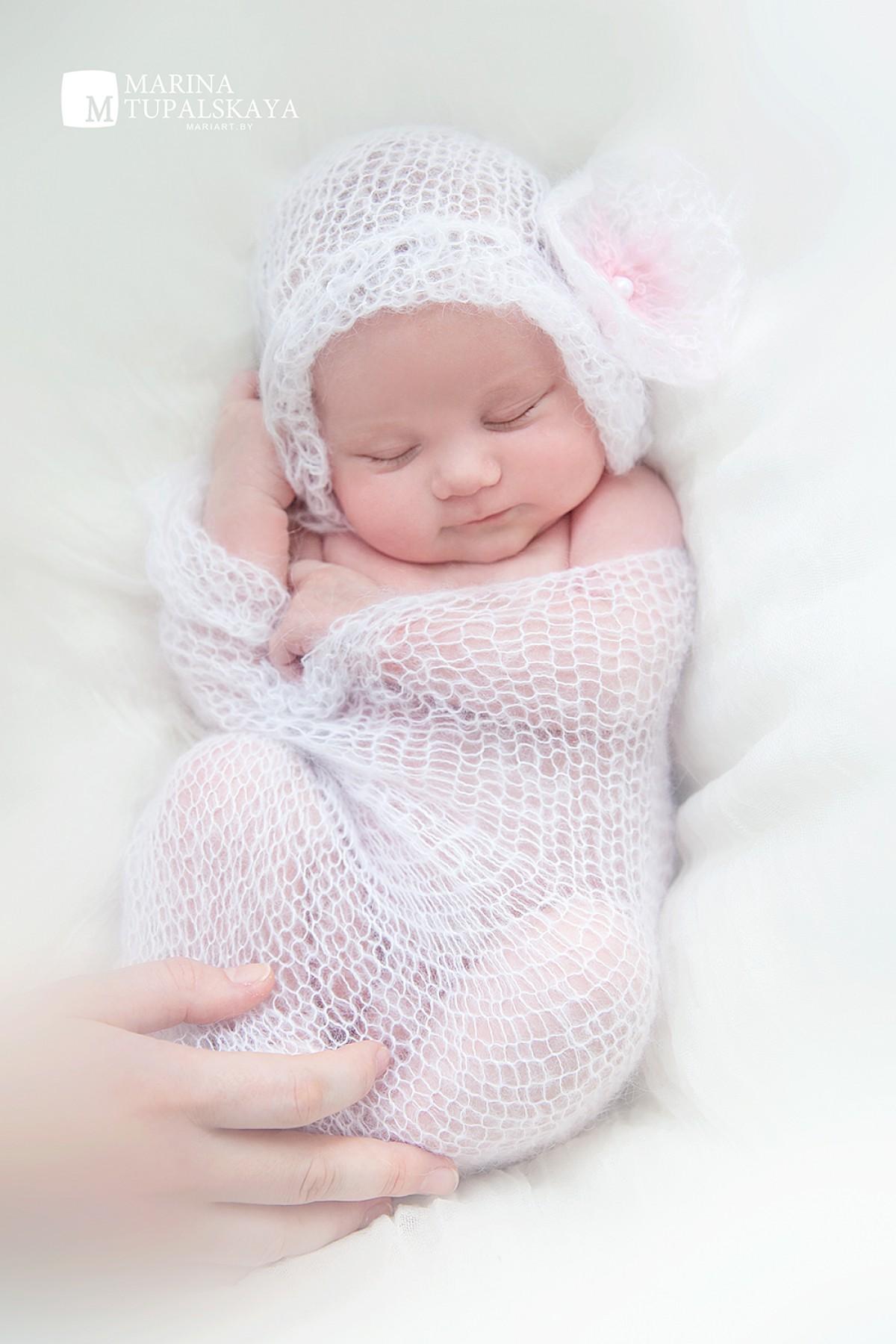 Костюм «Мышка Мини» крючком для фото сессии новорожденных. Мастер - класс 98