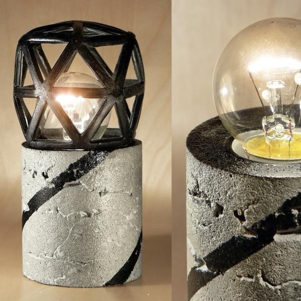 лампа из бетона купить
