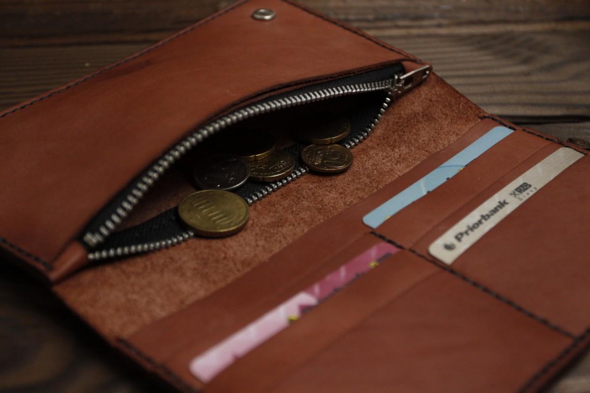 1a1422735bdc ... Мужское портмоне ручной работы из итальянской кожи ручной работы ...
